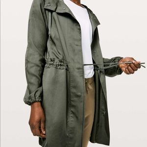 Lululemon city stroll jacket
